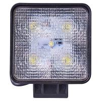 Lampa iluminat 5 leduri 10-30V 15W - unghi radiere 60 de grade tip flood