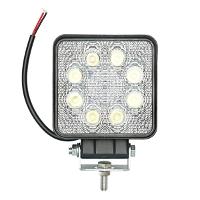 Lampa iluminat 8 leduri 10-60V 24W - unghi radiere 60 de grade tip flood