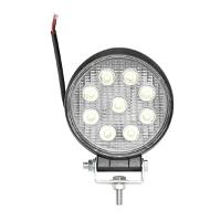 Lampa iluminat 9 leduri 10-60V 27W - unghi radiere 60 de grade tip flood 6000K 107x107x51mm IP67