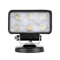 Lampa iluminat 6 leduri 10-60V 18W - unghi radiere 30 de grade tip spot