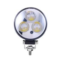 Lampa 3 LED-uri 10-30V 9W, unghi de radiere 60