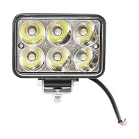 Lampa iluminat 6 leduri 10-90V 18W - unghi radiere 30 de grade tip spot