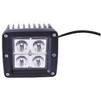Lampa iluminat 4 leduri 10-90V 12W - unghi radiere 30 de grade tip spot